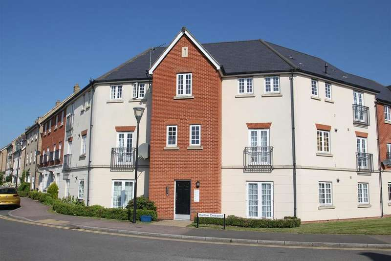 2 Bedrooms Apartment Flat for sale in Harlow Crescent, Oxley Park, Milton Keynes