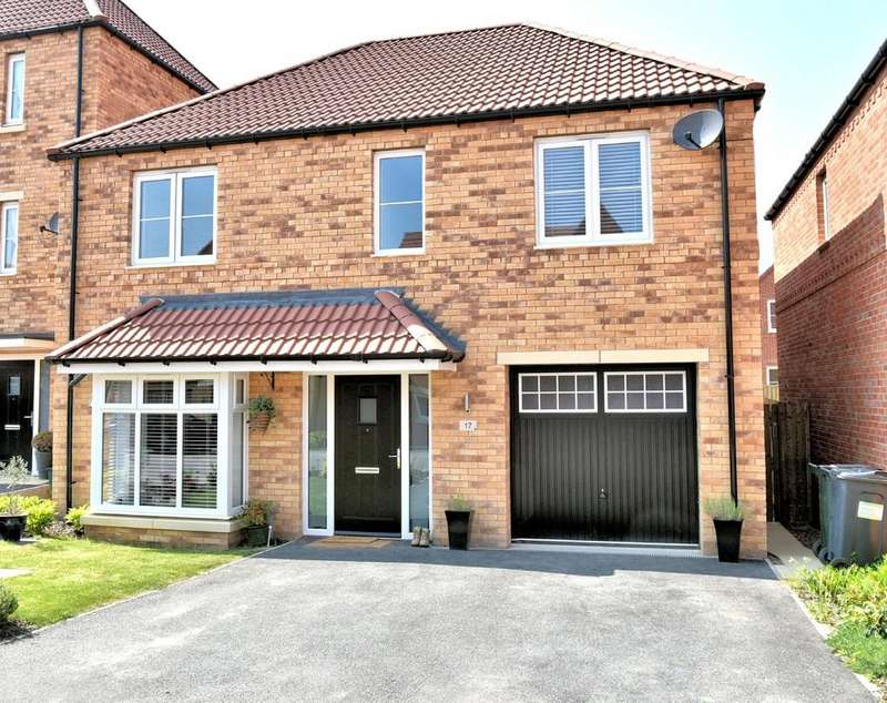 4 Bedrooms Detached House for sale in Green Shank Drive, Mexborough