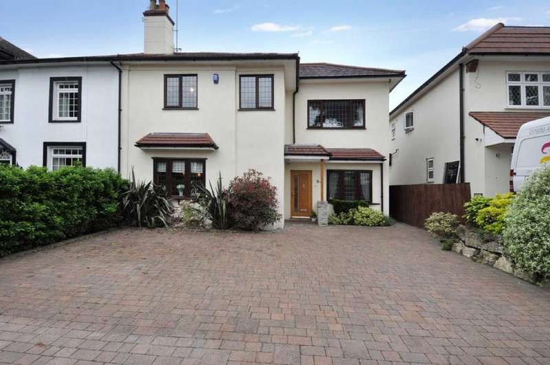 5 Bedrooms Semi Detached House for sale in Hainault Road, Chigwell