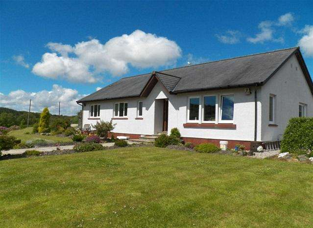 4 Bedrooms Detached Bungalow for sale in Lynedon, Claonaig, Tarbert, PA29 6YG