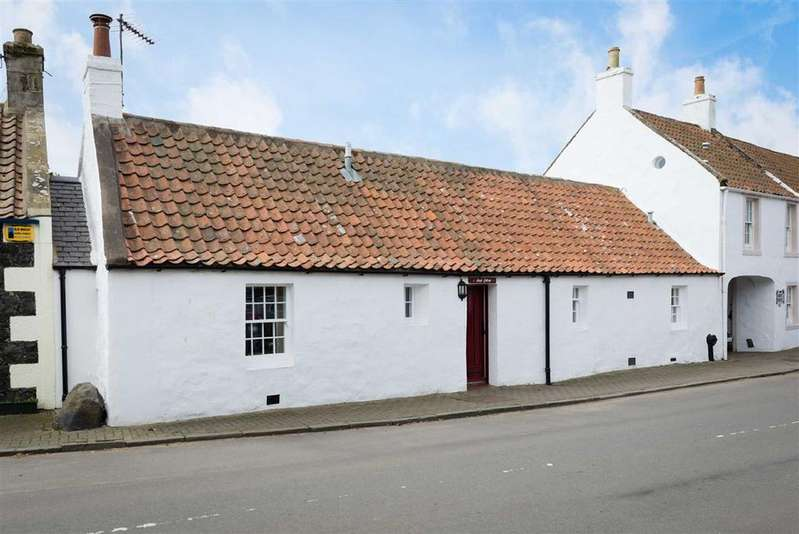 2 Bedrooms Cottage House for sale in Main Street, Kilconquhar