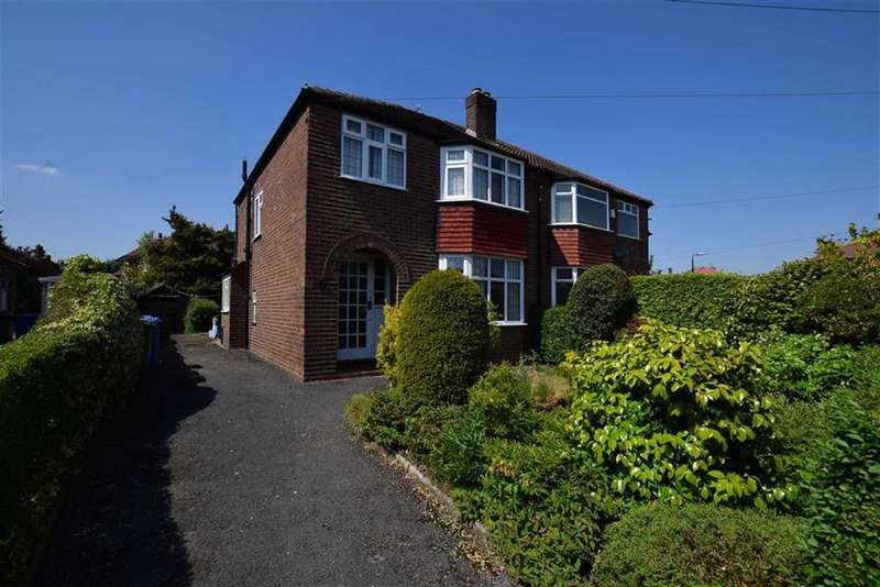 3 Bedrooms Semi Detached House for sale in Cumberland Road, Sale, M33