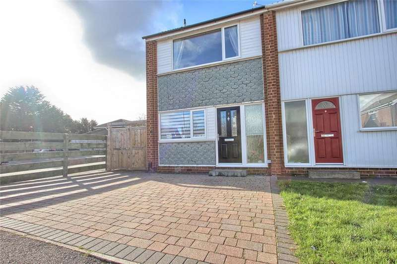 2 Bedrooms Semi Detached House for sale in Woodford Close, Marske-By-The-Sea