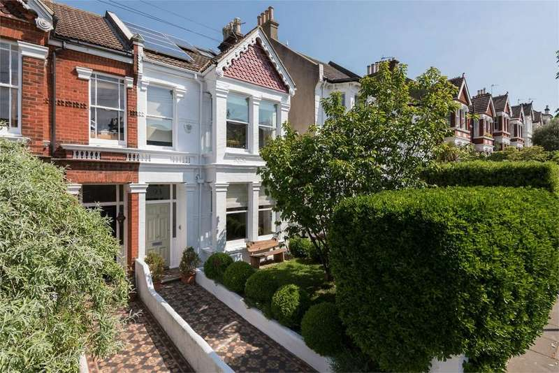 4 Bedrooms Terraced House for sale in Springfield Road, Brighton, East Sussex