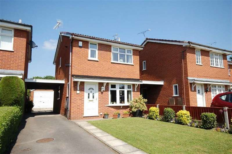 3 Bedrooms Link Detached House for sale in Padstow Close, Coppenhall, Crewe