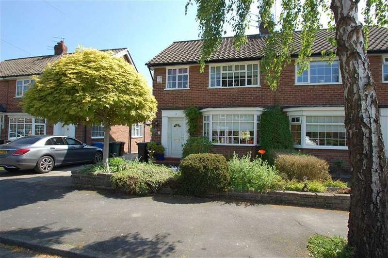 3 Bedrooms Semi Detached House for sale in Ashley Drive, Bramhall, Cheshire