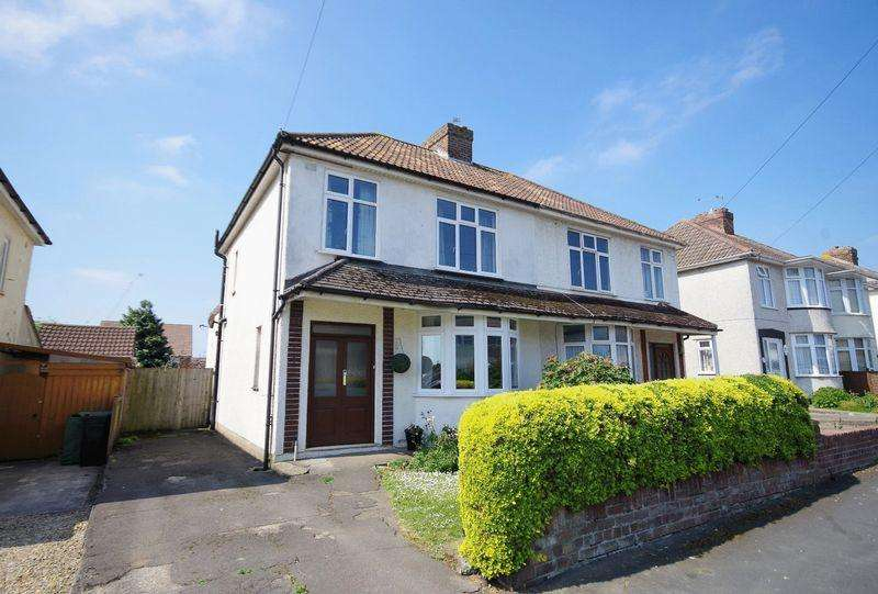 3 Bedrooms Semi Detached House for sale in Callicroft Road, Patchway, Bristol
