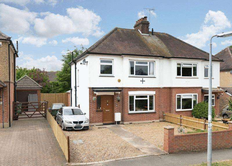 3 Bedrooms Semi Detached House for sale in Chaul End Road, Caddington