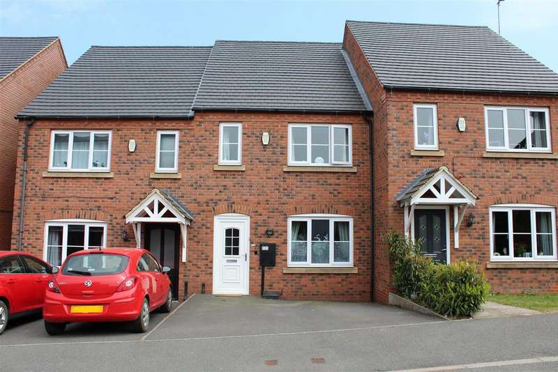 3 Bedrooms Terraced House for sale in Lakeshore Crescent, Whitwick, Coalville