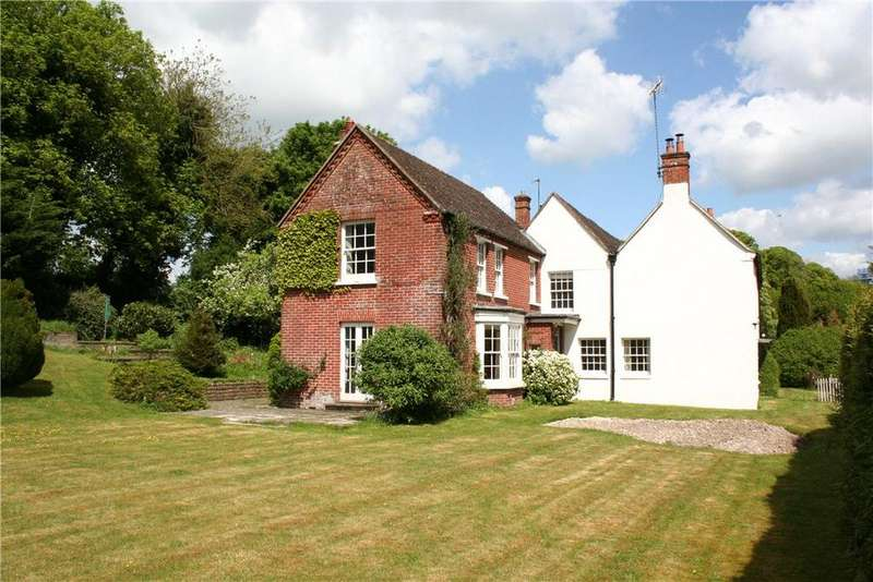 4 Bedrooms Semi Detached House for sale in Freefolk, Whitchurch, Hampshire, RG28