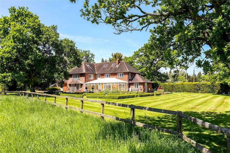 5 Bedrooms Equestrian Facility Character Property for sale in Broad Oak, Odiham, Hook, Hampshire, RG29
