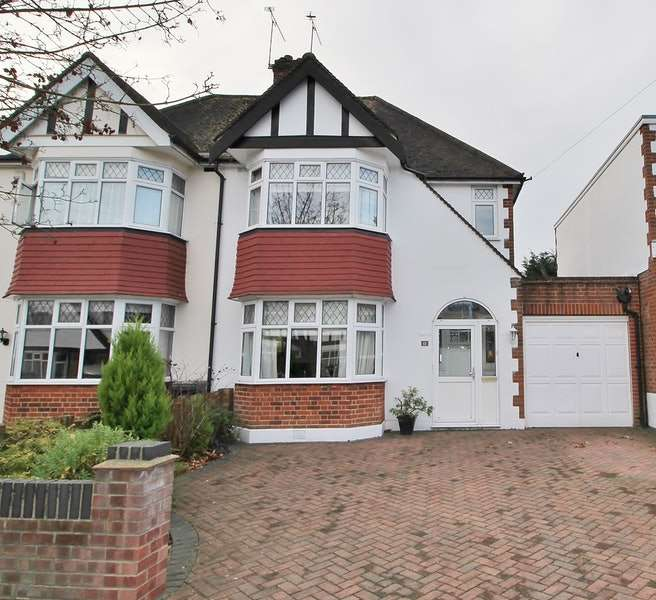 3 Bedrooms Semi Detached House for sale in Harwater Drive, Loughton, Essex, IG10