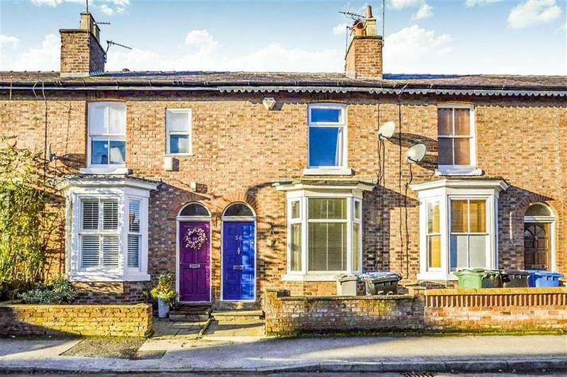 2 Bedrooms Terraced House for sale in Byrom Street, Hale, Cheshire, WA14