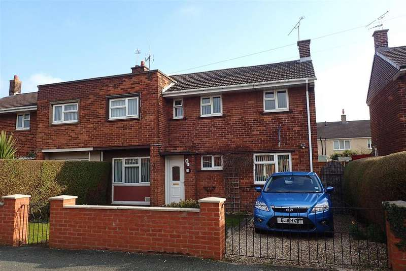 3 Bedrooms Semi Detached House for sale in Conway Drive, Wrexham