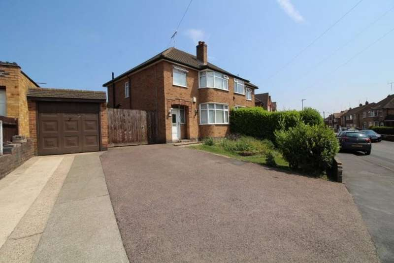 3 Bedrooms Semi Detached House for sale in Westover Road, Leicester