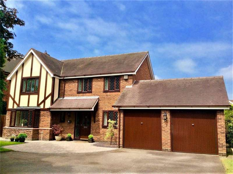 4 Bedrooms Detached House for sale in Pinfold Hill, Shenstone, Lichfield, Staffordshire