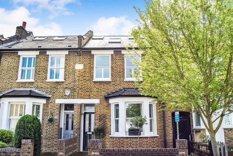 4 Bedrooms Terraced House for sale in Effra Road, Wimbledon