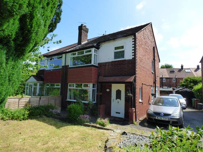 3 Bedrooms Semi Detached House for sale in Crawley Grove, Heaviley, Stockport, SK2