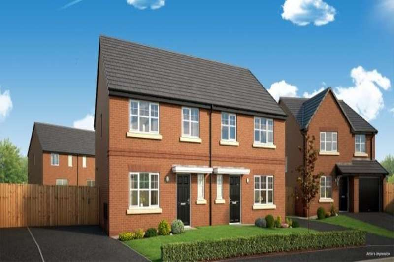 4 Bedrooms Semi Detached House for sale in Borrowdale Road, Middleton, Manchester, M24