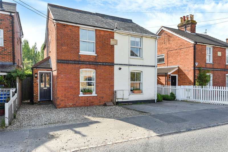 2 Bedrooms Semi Detached House for sale in Sidmouth Cottages, Bracknell Road, Brock Hill, Bracknell, RG42
