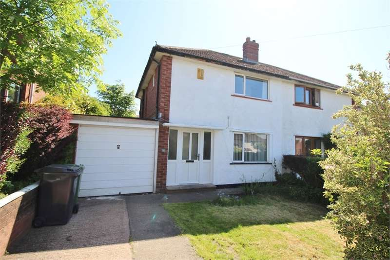 3 Bedrooms Semi Detached House for sale in CA2 7PZ High Meadow, Belle Vue, Carlisle, Cumbria