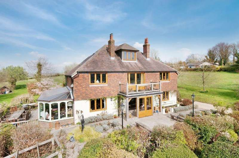 5 Bedrooms Detached House for sale in New Road, Meonstoke, SO32