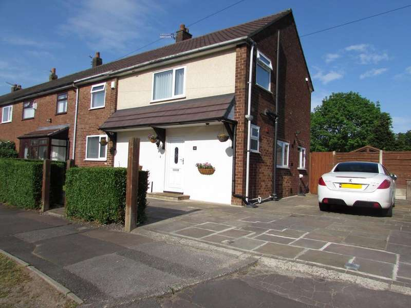 4 Bedrooms End Of Terrace House for sale in Bleak Hey Road, Peel Hall, Manchester, M22
