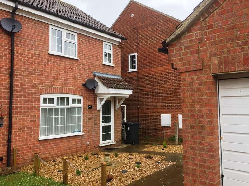 3 Bedrooms End Of Terrace House for sale in The Paddocks, Potton, Bedfordsire SG19