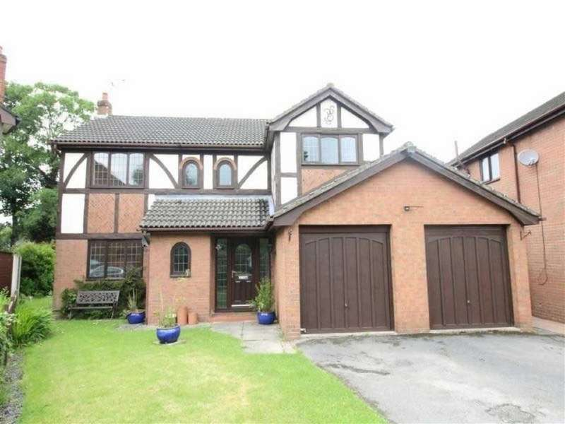 4 Bedrooms Detached House for sale in Rode House Close, Rode Heath