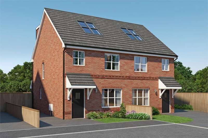 4 Bedrooms Semi Detached House for sale in Mulberry Park, Forest Road, Ellesmere Port, Cheshire