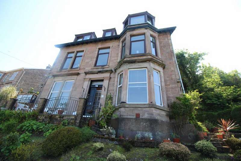 2 Bedrooms Flat for sale in 65 Victoria Road, GOUROCK, PA19 1DB