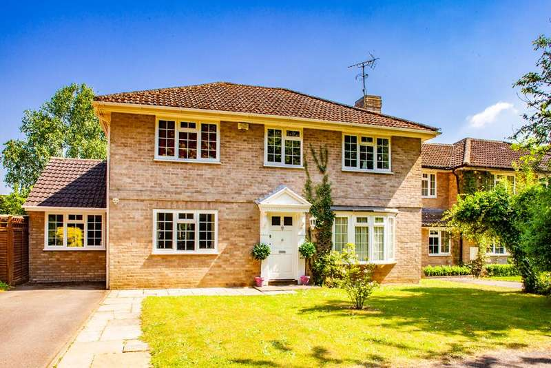 5 Bedrooms Detached House for sale in 5 Hocketts Close, Whitchurch Hill, RG8