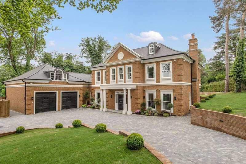 6 Bedrooms Detached House for sale in The Spinney, Queens Drive, Oxshott, KT22