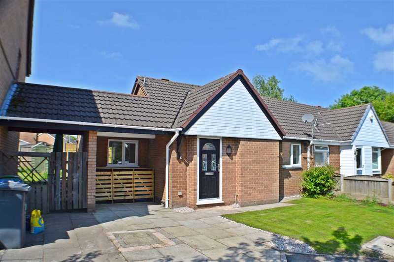 2 Bedrooms Bungalow for sale in Tasman Close, Old Hall, Warrington