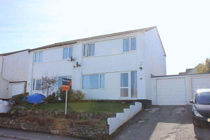 3 Bedrooms Semi Detached House for sale in Pentrevah Road, Penwithick