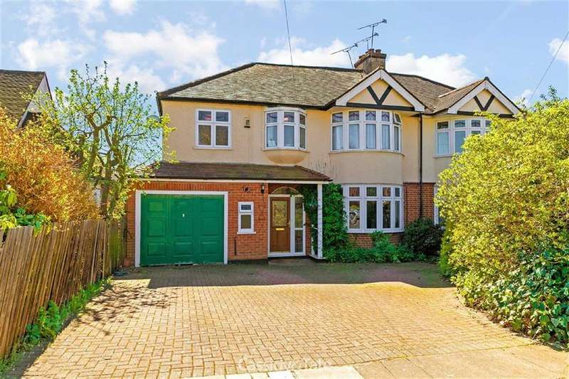 5 Bedrooms Semi Detached House for sale in Jennings Road, St Albans, Hertfordshire