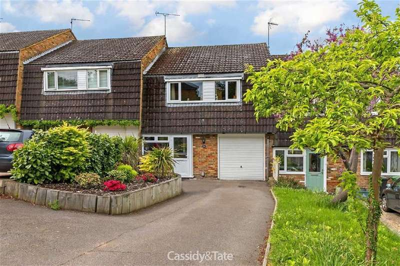 3 Bedrooms Terraced House for sale in Lattimore Road, Wheathampstead, Hertfordshire