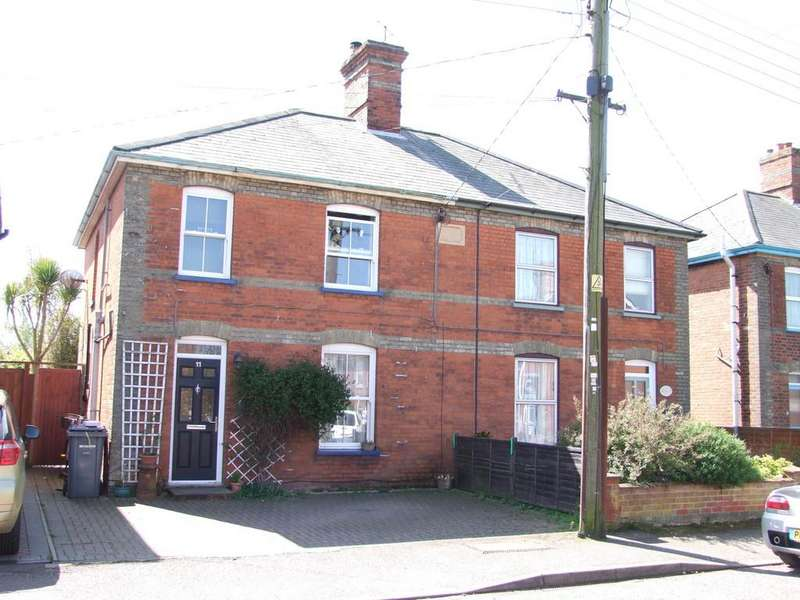 3 Bedrooms Semi Detached House for sale in Kings Road, Leiston