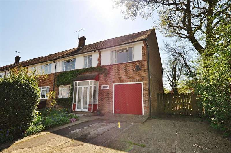 5 Bedrooms Semi Detached House for sale in 7 Downes Road, St. Albans