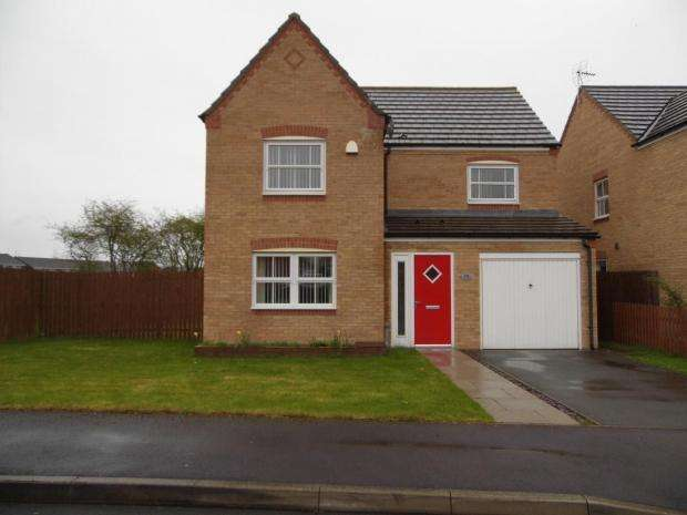 4 Bedrooms Detached House for sale in Northbridge Park St. Helen Auckland Bishop Auckland