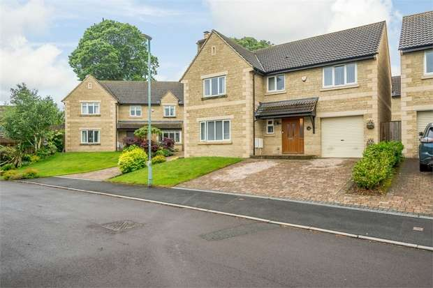 4 Bedrooms Detached House for sale in Claremont Gardens, Hallatrow, Bristol, Somerset