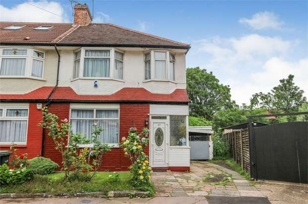 3 Bedrooms End Of Terrace House for sale in Hereward Gardens, London