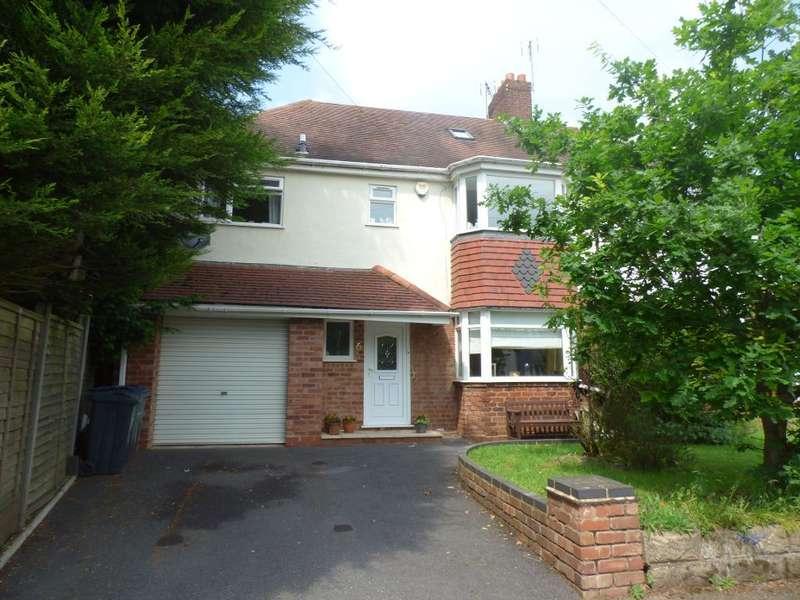 4 Bedrooms Semi Detached House for sale in Yew Croft Avenue, Harborne, Birmingham, B17 9TR