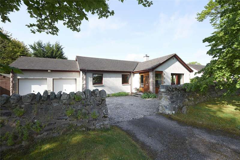 3 Bedrooms Detached Bungalow for sale in 1 Church Avenue, Grantown-on-Spey, Moray, PH26