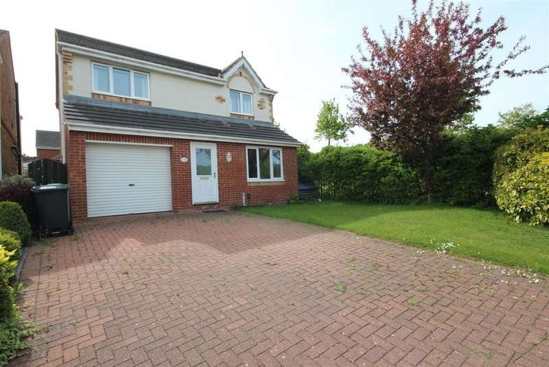 3 Bedrooms Detached House for sale in Pintail Close, Bishop Cuthbert, Hartlepool
