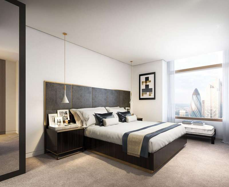 2 Bedrooms Apartment Flat for sale in Principal Tower, Worship Street, Shoreditch, London