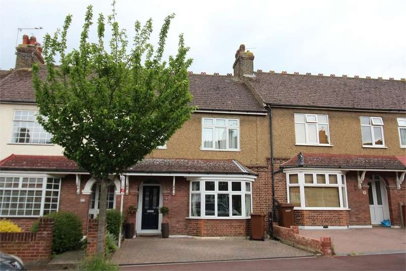 3 Bedrooms Terraced House for sale in Montrose Avenue, Chatham, Kent. ME5 7HU