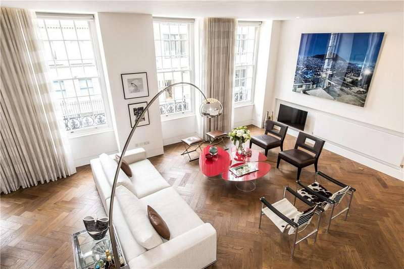 2 Bedrooms Apartment Flat for sale in New Cavendish Street, Fitzrovia, W1W