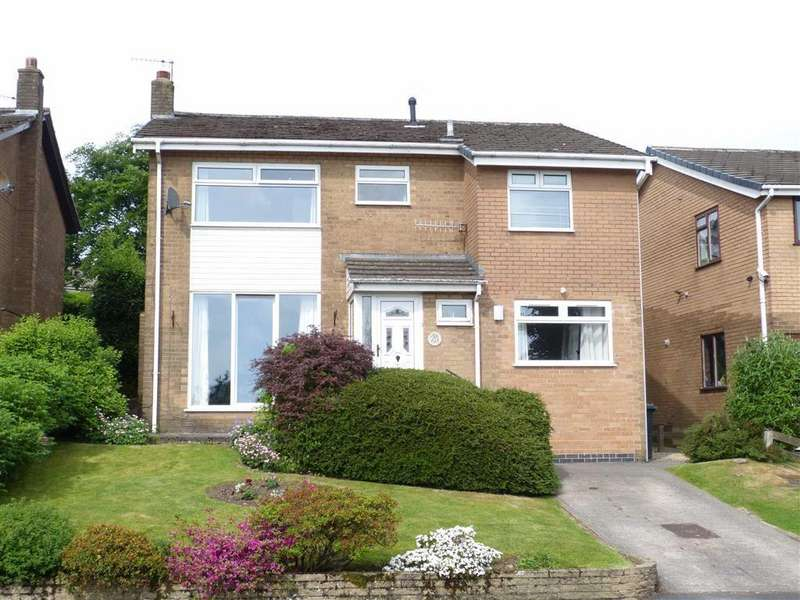 4 Bedrooms Detached House for sale in Heath Road, Glossop