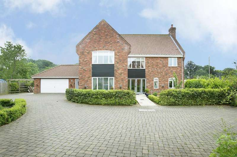 5 Bedrooms Detached House for sale in Chestnut Close, Swardeston